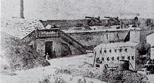 Fort Moultrie en 1861