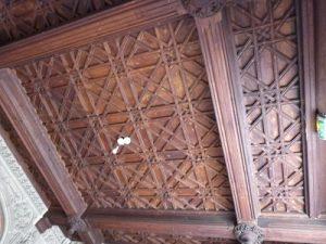 Plafond de l'entrée