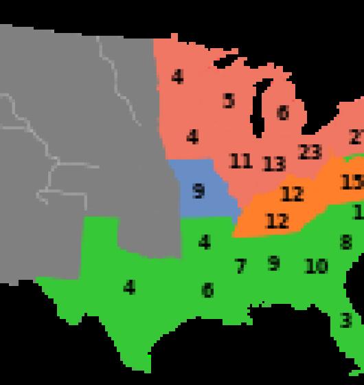 Résultats- des- élections -présidentielles -de -1860