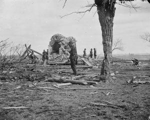 Henry House détruite