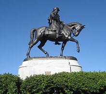 Statue équestre de PGT Beauregard