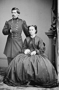 McClellan et son épouse
