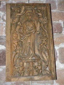 Vantaux sculptés
