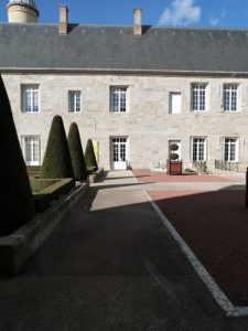 Le château de Bouthéon