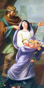 Roseline et le miracle des roses