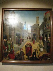 La légende de Saint Mitre (1470-1475)