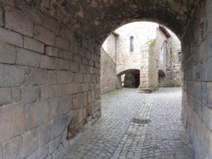 Passage fortifié