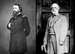 John Pope et Robert E. Lee