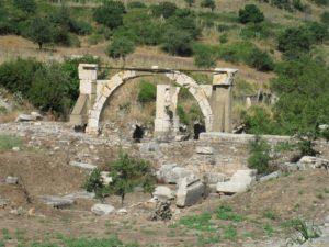 Agora supérieure, vestiges