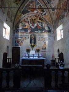 Assomption de la Vierge Marie sur la voûte du choeur