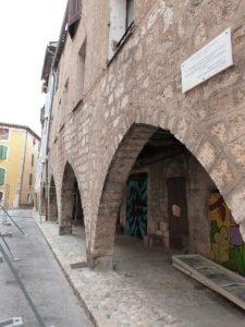 Arcades du quartier juif