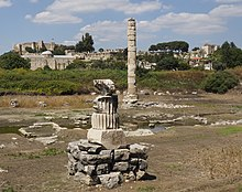 Ephèse, ruines du temple d'Artémis