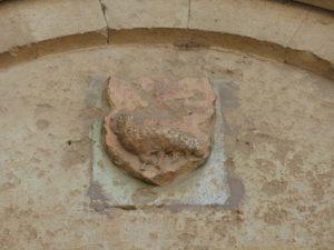 Sculpture sur tympan