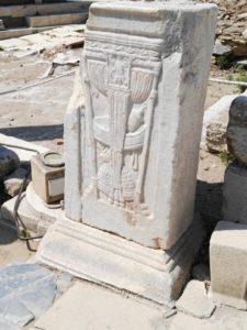 Stèles décorées