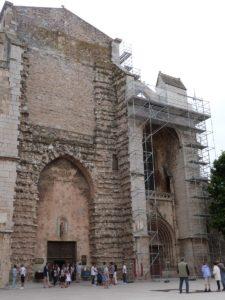 Façade latérale droite de la basilique