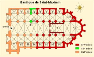 Plan de la basilique