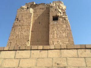 Porte monumentale, entrée du temple