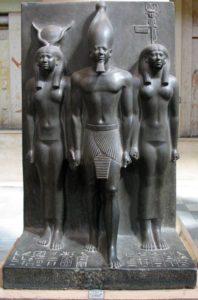 Mikérinos et Hathor