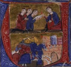 Alliance entre Amaury 1er et Manuel 1er Comnène en 1168