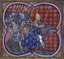Louis VII et l'empereur Conrad III
