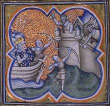 Siège d'Acre par Philippe Auguste
