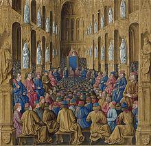 Urbain II au Concile de Clermont