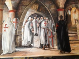 Chevaliers de l'Ordre du Temple - peintures de Nan Émile