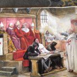 Les Templiers - Peintures de Nan Emile