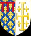 Armoiries des Anjou et rois de Sicile