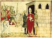 Attentat d'Anagni, arrestation de Boniface