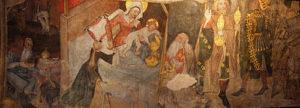 Chapelle basse, adoration des Rois mages