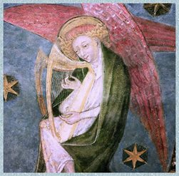 Chapelle basse, ange musicien