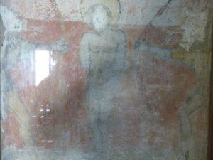 Collatéral droit, fresques