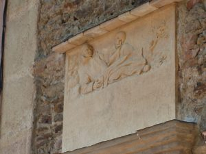 Bas-relief de Saint Bruno