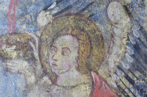 Peintures murales de l'église médiévale