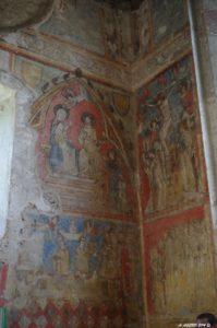Peintures murales de l'église primitive