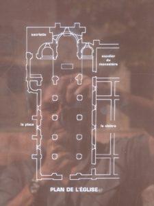 Plan de l'église Saint-Pierre et Saint-Paul