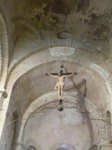 Voûte romane du transept