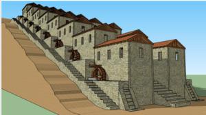 Meunerie romaine de Barbegal