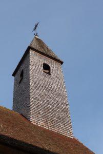 Cour du prieur, clocher