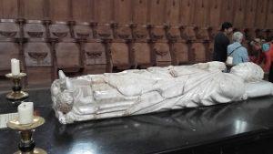 Gisant de Clément VI 6 à La Chaise- Dieu