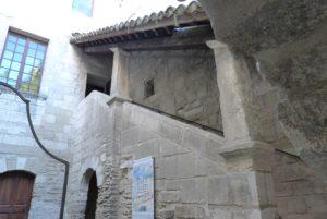 La cellule du sacristain