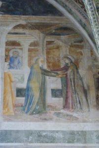 La chapelle des fresques-La Visitation
