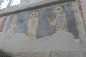 La chapelle des fresques-Les trois Diacres