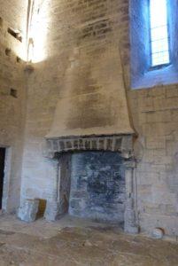 La salle du Viguier-cheminée