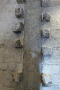 Châtelet d'entrée-Salle du four à pain