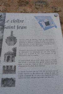 Le cloître Saint-Jean