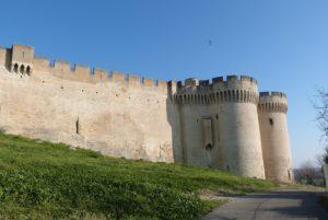 Les remparts et le Châtelet d'entrée