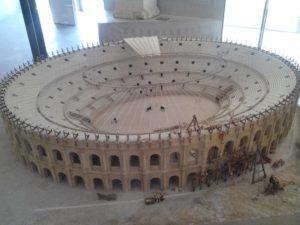 Maquette de l'Amphithéâtre d'Arles