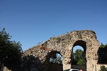 Aqueduc de la Brévenne rampant du sillon des Massues